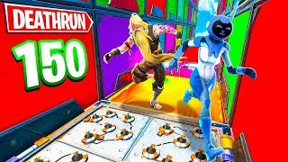 LA DEATHRUN DA 150 LIVELLI! - FORTNITE *IMPOSSIBILE*