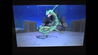 Pokemon ORAS- Capturing Rayquaza