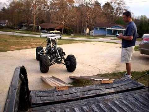 Monster Trucks For Sale >> Toccoa big R/C 35% Baja 5b Off-Road 125CC 4 Stroke part 5 ...