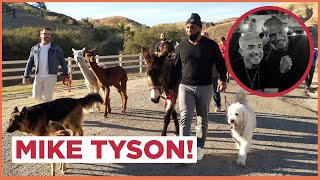 Mike Tyson came to the Ranch! (Ranch Vlog!)