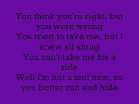Trouble- pink with lyrics