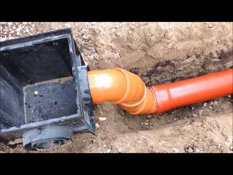 Как установить дождеприёмники для ливневой канализации