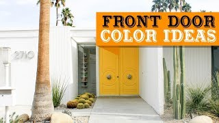 50+ Best Front Door Color Ideas and Designs for 2019