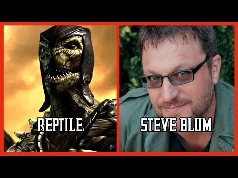 Characters and Voice Actors - Mortal Kombat X