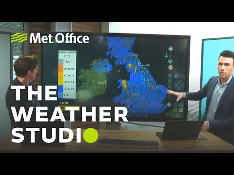 Risk Of Further Flooding? – The Weather Studio Live 18/02/20