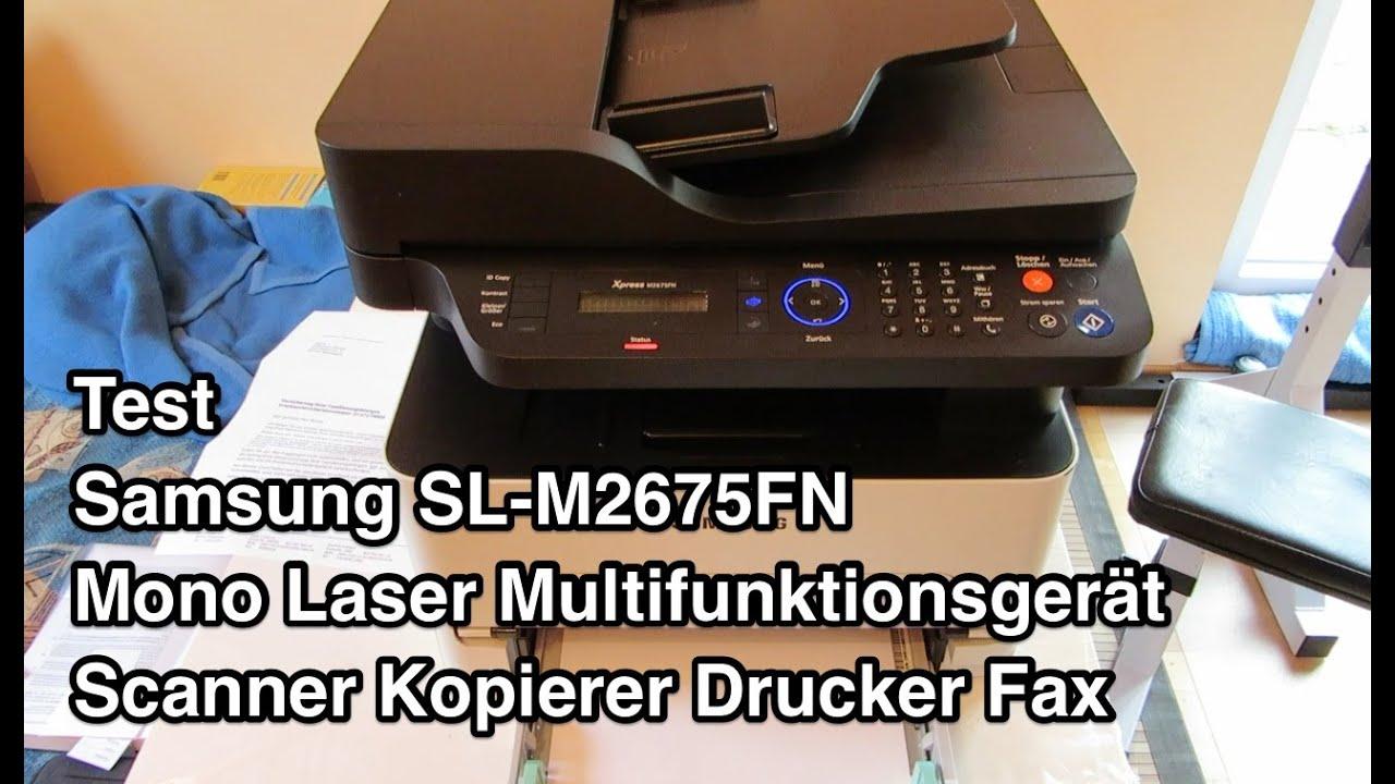 test samsung sl m2675fn multifunktionsger t samsung. Black Bedroom Furniture Sets. Home Design Ideas