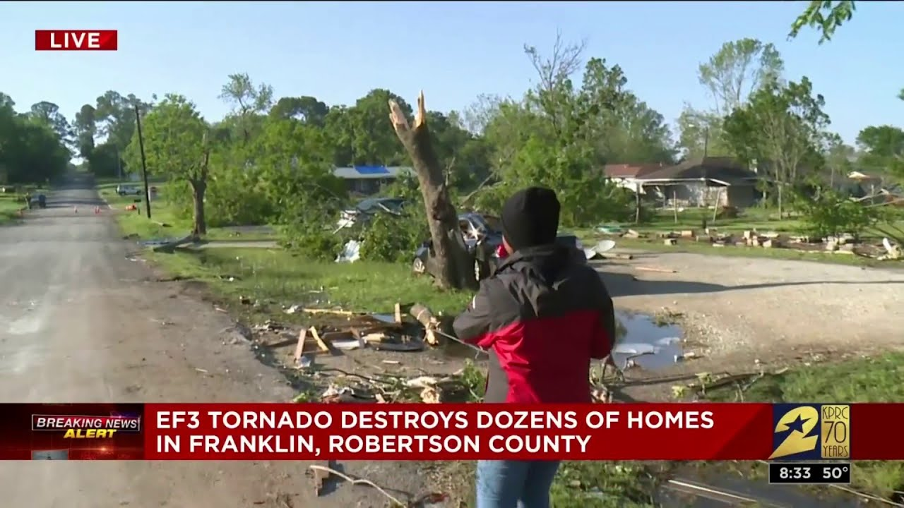 One Hurt, Dozens of Homes Damaged as Storms Roll Across Texas ...