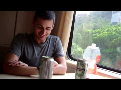 Overnight train from Hong Kong to Shanghai