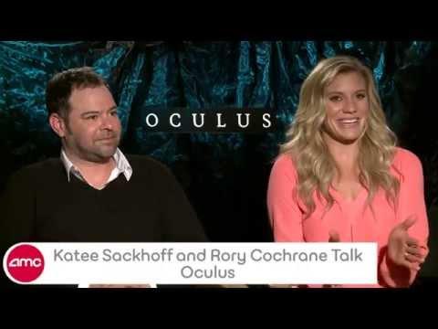 Katee Sackhoff & Rory Cochrane Talk OCULUS With AMC