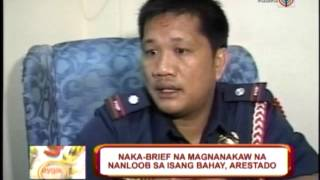 Thief, in underwear, breaks into house in Pampanga