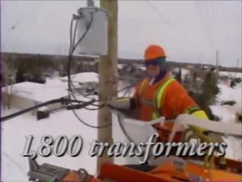 1998 - Power Workers' Union - Ice Storm 1998