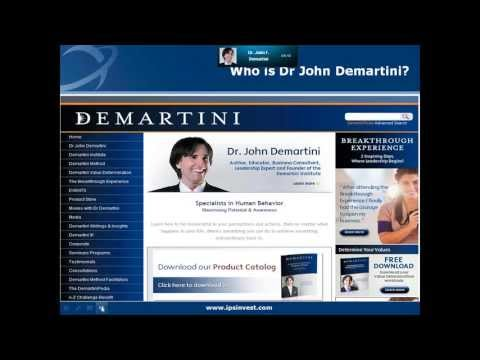 Dr John Demartini & Scott Picken - human behavior, personal development | Lets Talk Property