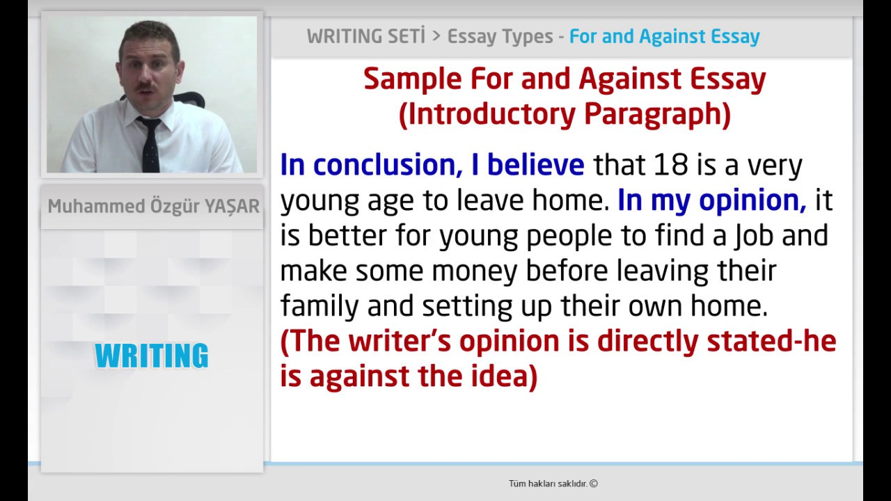 College essay examples about an influential person