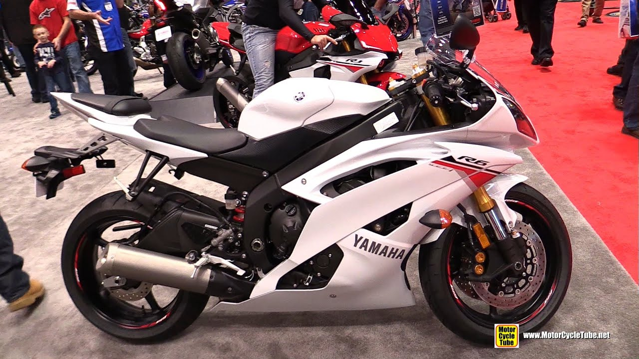 2015 yamaha yzf r6 walkaround 2014 new york motorcycle. Black Bedroom Furniture Sets. Home Design Ideas