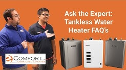 Tankless FAQ's: Ask the Expert with Noritz