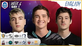Clash Royale League: CRL West Fall 2019 | Week 6 Day 1! (English)