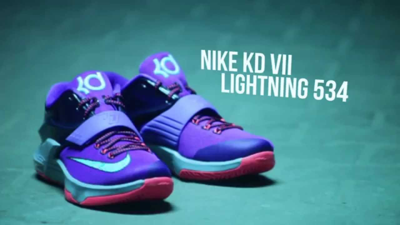 competitive price 5d34c 34bea Nike KD 7 Lightning 534 - Ataf.pl - YouTube