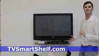 Tv Shelf For Wall Mounted Flat Screen Televisions
