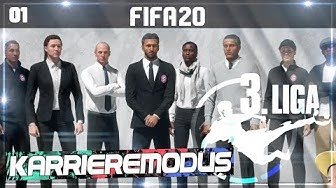 FIFA 20: START KARRIEREMODUS 3. LIGA ⚽️ #01