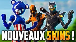 ALL THE PROCHAINS SKINS OF FORTNITE BATTLE ROYALE!