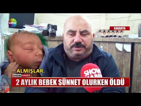 2 Aylık Bebek Sünnet Olurken öldü