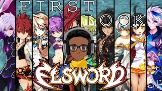 Elsword Online Gameplay - First Look HD