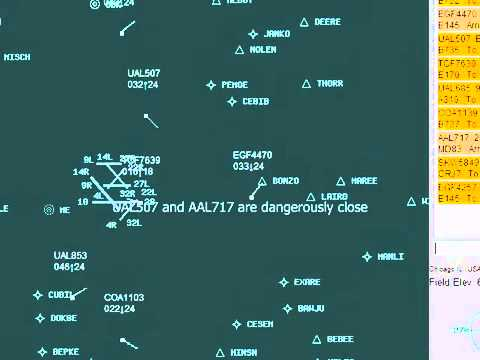 ATC-SIM: a browser-based air traffic control simulator game