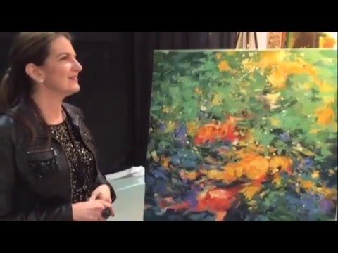LA Art Show inverview with artist Lisa Palombo