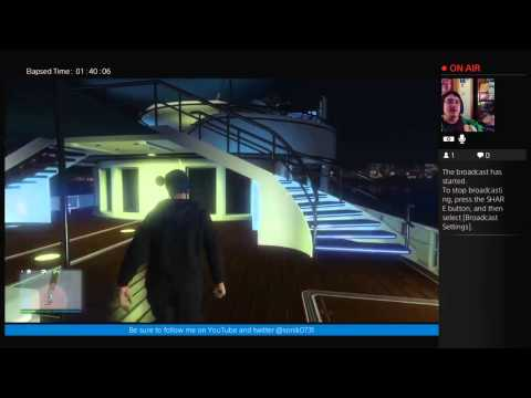 GTA Online open session with Sonik0731 and kenisangry: Yacht invite!!
