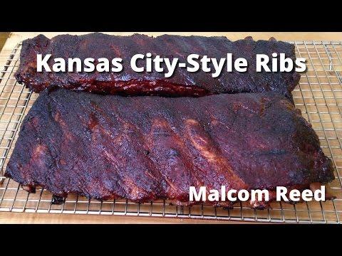 Kansas City Spare Ribs | How to smoke Kansas City Style Spare Ribs Malcom Reed HowToBBQRight