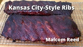 Kansas City Spare Ribs | How to smoke Kansas City Style Spare Ribs Malcom Reed HowToBBQRight