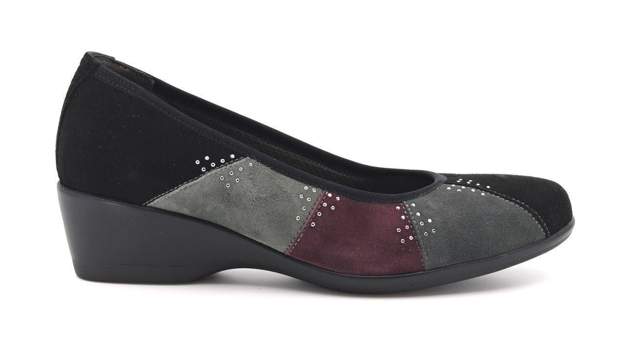 Melluso scarpe comode con zeppa SKU #R35017E