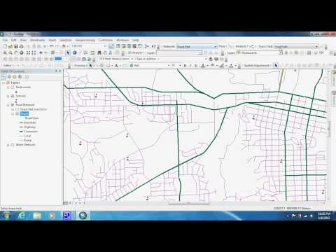 Measuring Distance with Utility Network Analyst