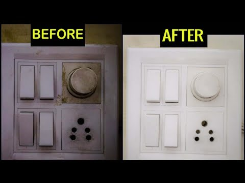 How to Clean Switch Board Quickly / Easily || Simple Home Tips || SumanTV Life