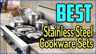 Top 5 Best Stainless Steel Cookware Sets For Kitchen In 2020