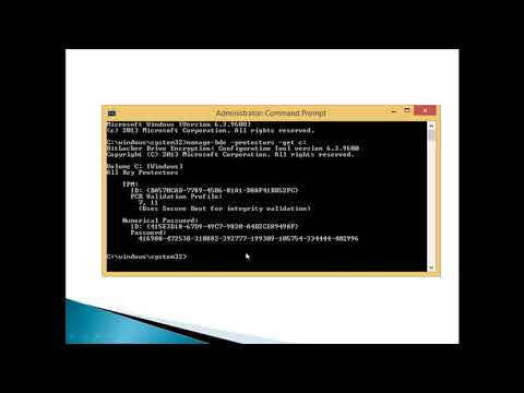 unlock bitlocker drive from command prompt without recovery key.
