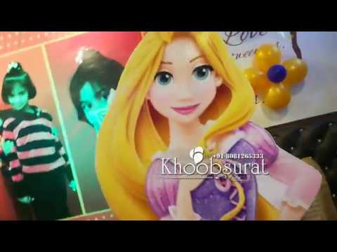 khoobsurat event Rapunzel birthday party.