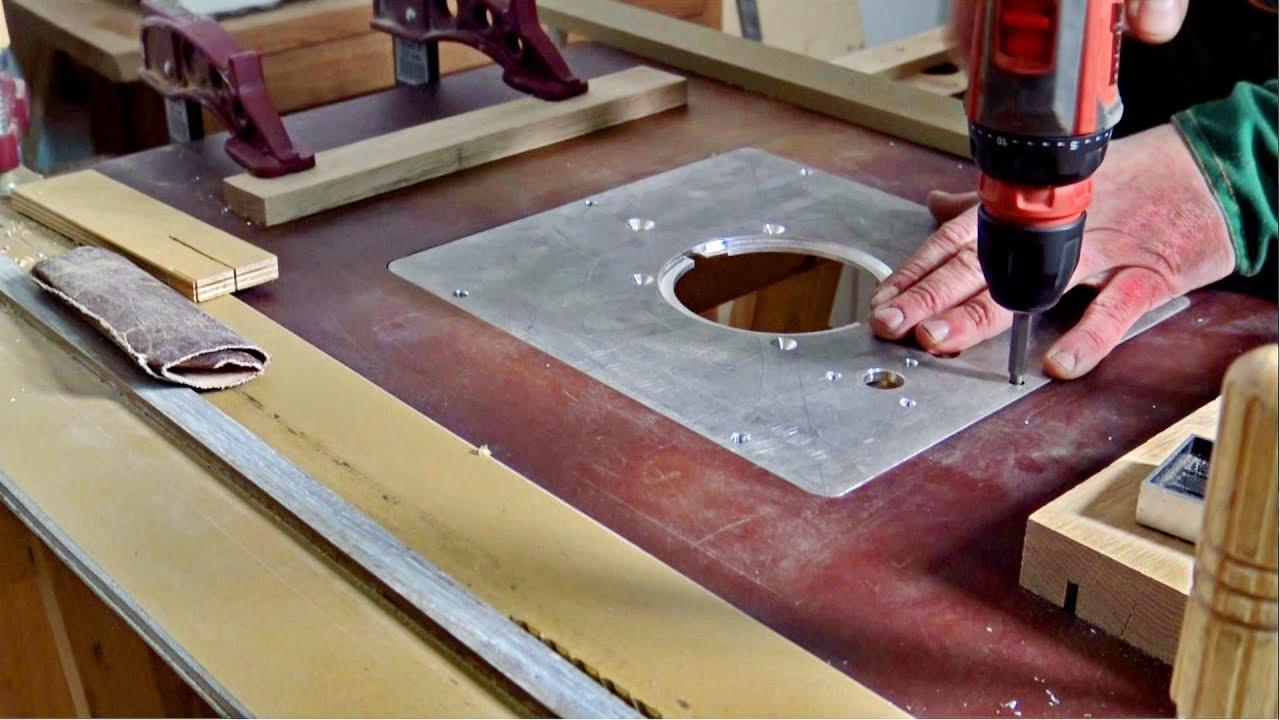 Самодельный фрезерный стол. Фрезерные работы по дереву и металлу.2 часть
