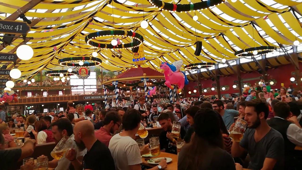 Oktoberfest Paulaner Tent Munchen 2017  sc 1 st  YouTube & Oktoberfest Paulaner Tent Munchen 2017 - YouTube