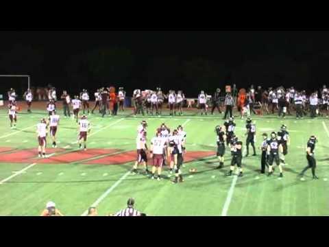 Catholic University Football vs Carnegie Mellon 4th Quarter and post-game