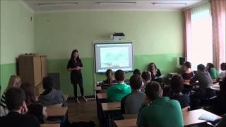 Zajęcia Kurierów w XIII l o    Karski  Jan Karski