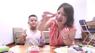 ỐC CÙNG BÁC LY BÓC KẸO PLAY TỔNG HỢP CỦA 7-11 TRỊ GIÁ 1000 BATH | KOQ KIDS TV