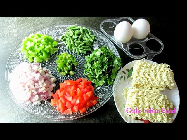 Egg With Vegetables Maggi Recipe || Easy & Quick Tasty Maggi