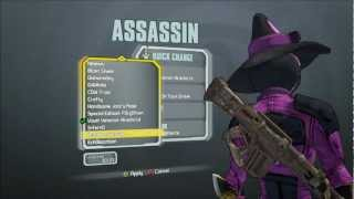 All Characters - New Heads and Skins Madness, Domination and Supremacy Packs - Borderlands 2