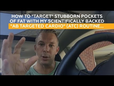 """How to """"target"""" stubborn pockets of fat with my scientifically backed """"Ab Targeted Cardio"""" routine"""