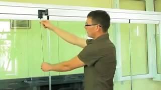 видео Видео безрамное остекление балконов и лоджий