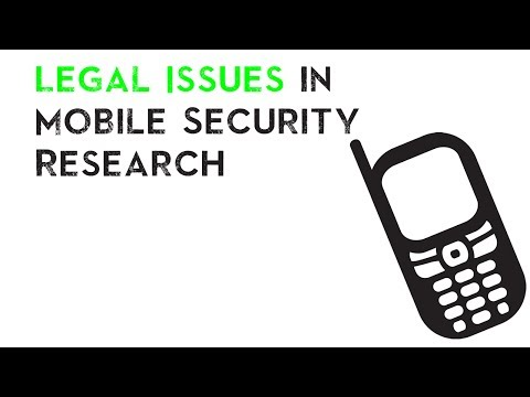 Legal Issues in Mobile Security Research