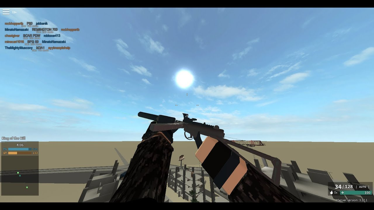 New Steel Ii Phantom Forces Roblox Robots Juegos Roblox Phantom Forces New Steel Ii Update L2a3 Is New Best Gun Great Game Play Youtube