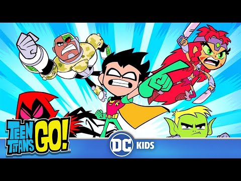 Teen Titans Go! | Teen Titans Transformations | DC Kids