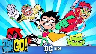 #StayHome Teen Titans Go! | Teen Titans Transformations | DC Kids